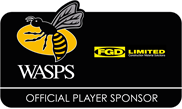 Wasps Official Player Sponsor